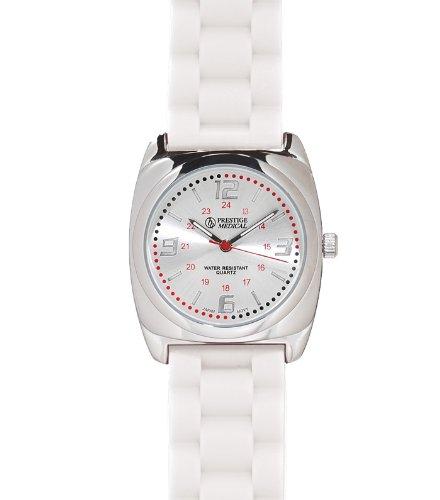 Prestige Medical Braided Band Fashion Watch, White