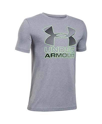 Under Armour Boys' Hybrid Big Logo T-Shirt, – DiZiSports Store