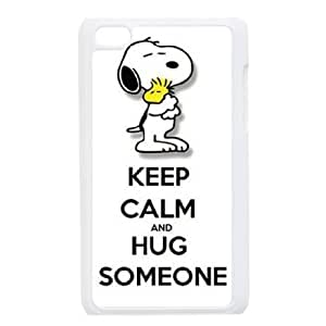 iPod Touch 4 cell phone cases White Charlie Brown and Snoopy MN704122