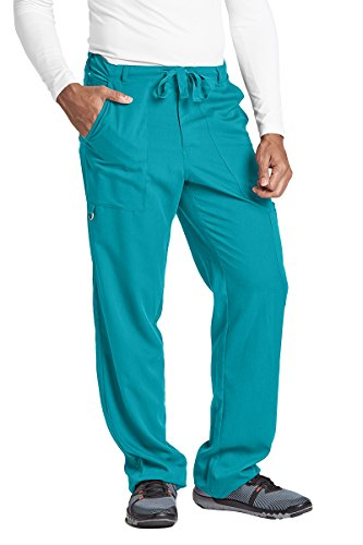 Grey's Anatomy 0203 Men's Drawstring Pant Teal L by Barco