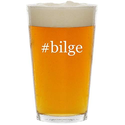 Auto Mayfair - #bilge - Glass Hashtag 16oz Beer Pint