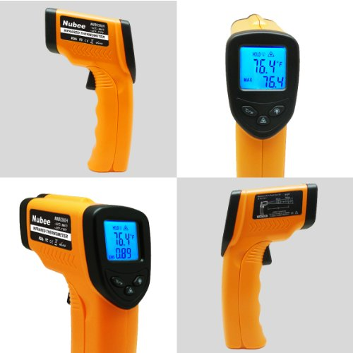 Nubee 8380h Non Contact Infrared Thermometer Temperature