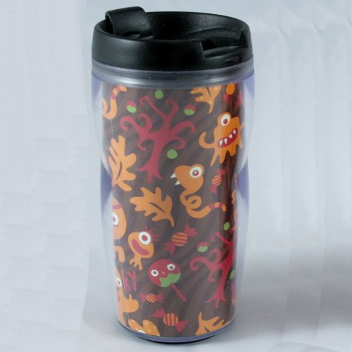 Starbucks Coffee 2004 Halloween Travel Tumbler, 8 fl oz.