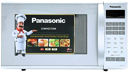 ecc610a83 Panasonic Convection NNCT651M 27 Liter Microwave Oven - Silver ...