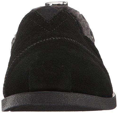CHILL BUTTONED Slip Skechers LUXE Gray UP Ons Women's Black ZtqX4w57n