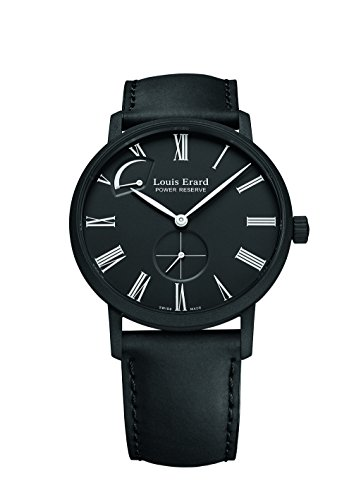 Louis-Erard-Mens-53230NN22-Excellence-Automatic-Black-leather-Watch