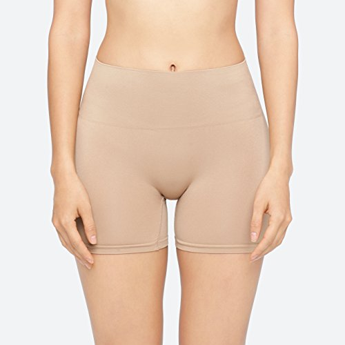Yummie Women's Nina Seamlessly Everyday Shaping Shortie Nude Body Shaper MD/LG