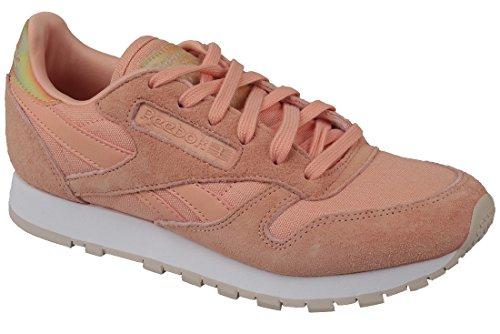 Womens Classic Chamois - Reebok Classic Leather V69805 Womens Shoes Size: 10 US