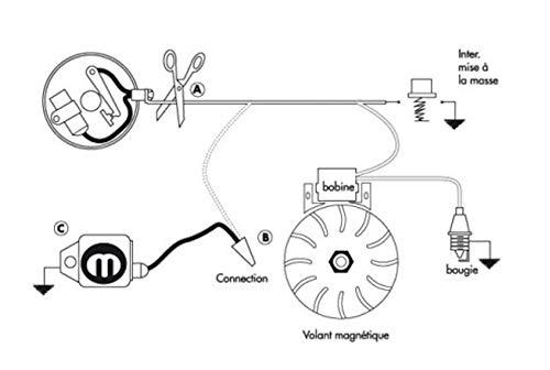 cyclingcolors MODULO di ACCENSIONE Universale sig 01 Elettrico TAGLIAERBA Tosaerba Trattore Motosega