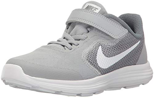 NIKE Kids' Revolution 3 (Psv) Running-Shoes, Wolf Grey/White/Cool Grey, 1.5 M US Little Kid by Nike (Image #1)