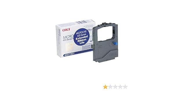Microline 420// 421// 490// 491 18 Pack of BLACK Printer Ribbon for OKI 42377801