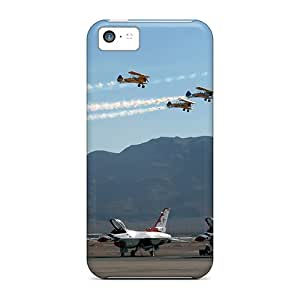 Anti-scratch And Shatterproof Flight Pinchbeck Phone Cases For Iphone 5c/ High Quality Cases