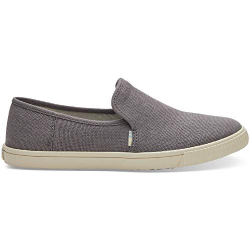 - TOMS Shade Heritage Canvas Women's Clemente Slipon Grey 10014047 7.5