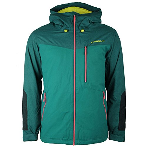 Oneill Snowboard Jackets (O'Neill Cue Mens Insulated Snowboard Jacket - Large/Pacific)