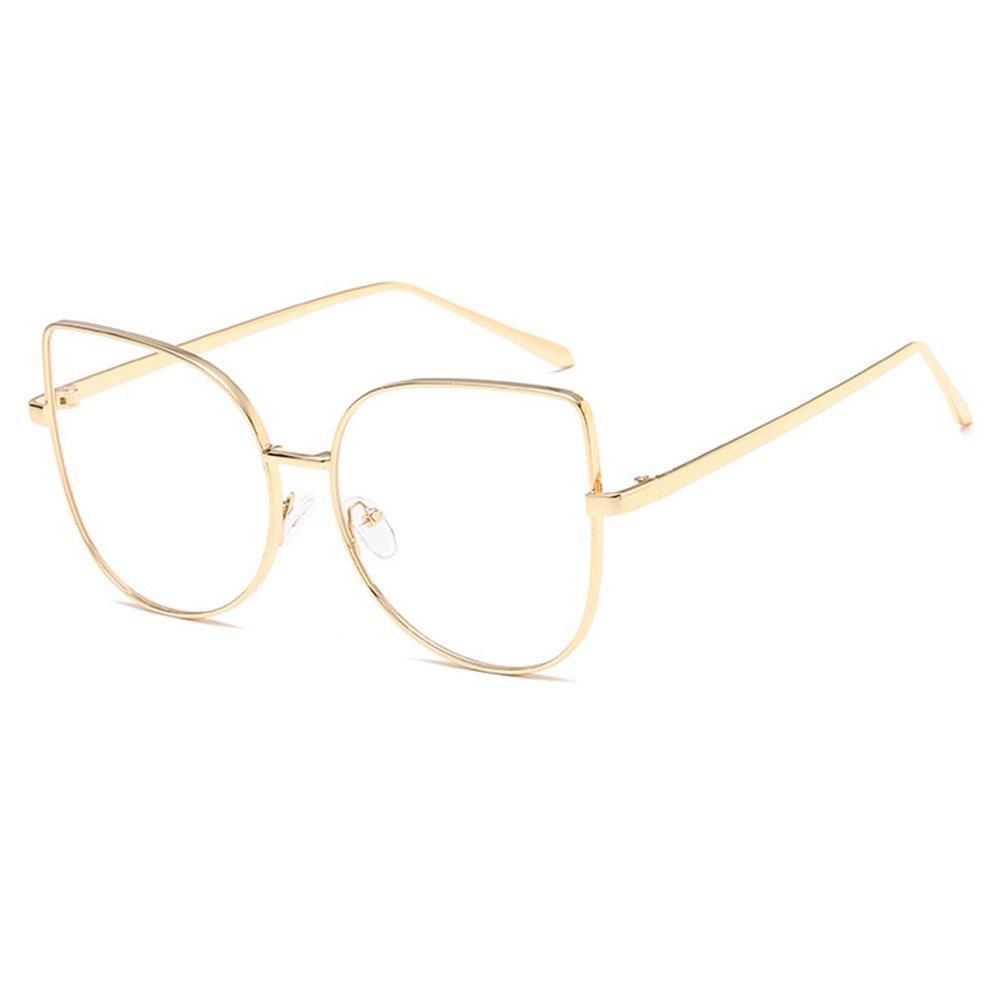 Juleya Cat Eye Brille für Männer Frauen - Mode Brillen Brillengestell 1229YJJ07 X171229YJJ0704-J