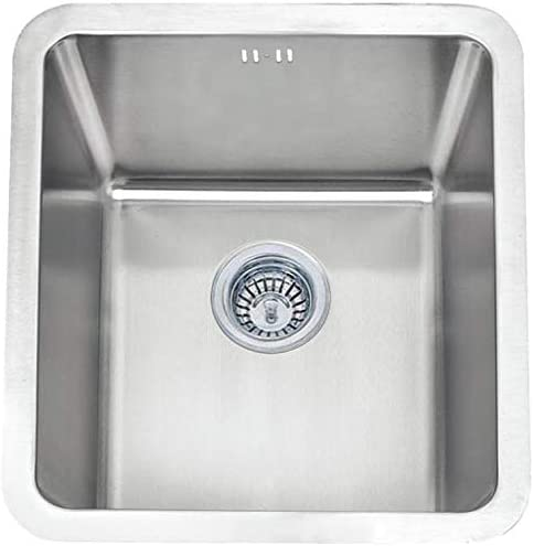 Grand Taps Undermount Brushed Stainless Steel Bowl Kitchen Sink (A01 bs)