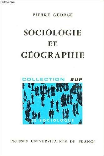 En ligne téléchargement gratuit Sociologie et géographie pdf ebook
