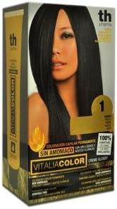 Th Pharma Th Vitalia Color Tinte Nº 1 Negro Sin Amoniaco 100 g