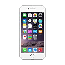"""APPLE 64GB IPHONE 6 A1586 4.7"""" SILVER FACTORY UNLOCKED LTE 4G [2G GSM AND/OR 3G 850(B5)/900(B8)/1700