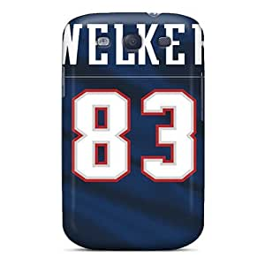 Elaney Galaxy S3 Hybrid Tpu Case Cover Silicon Bumper New England Patriots