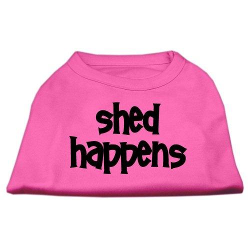 UPC 099994065249, Shed Happens ScrPrint Dog Shirt Bright Pink Med (12)