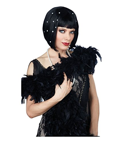 Pearlescent 20s Flapper Cleopatra Style Bob Wig (Scary 1920s Halloween Costumes)