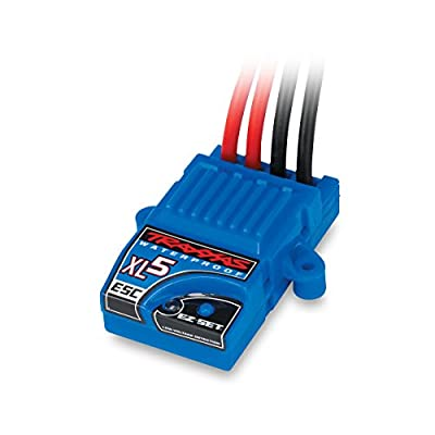Traxxas 3018R XL-5 Electronic Speed Control, Waterproof (land version, low-voltage detection, fwd/rev/brake)