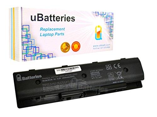 UBatteries Compatible 48Whr Laptop Battery Replacement For HP 710416-001 710417-001 P106 PI06 PI06XL PI09 HSTNN-LB4N HSTNN-LB4O HSTNN-YB4N HSTNN-YB4O - 6 Cell, 4400mAh