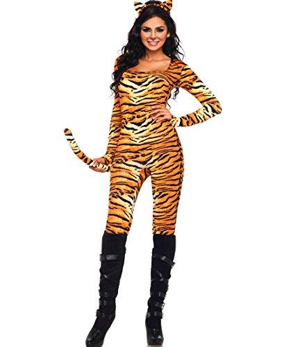 Leg Avenue 83895 Wild Tigress Women's Halloween Costume - Orange/Blac - X-Large ()
