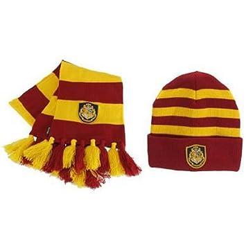 Harry Potter Hogwarts Gorro de lana y bufanda Set  Amazon.es  Electrónica c6f29539920