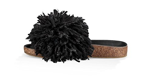 Ugg Shoes Cindy Sandali Neri Donna Nero