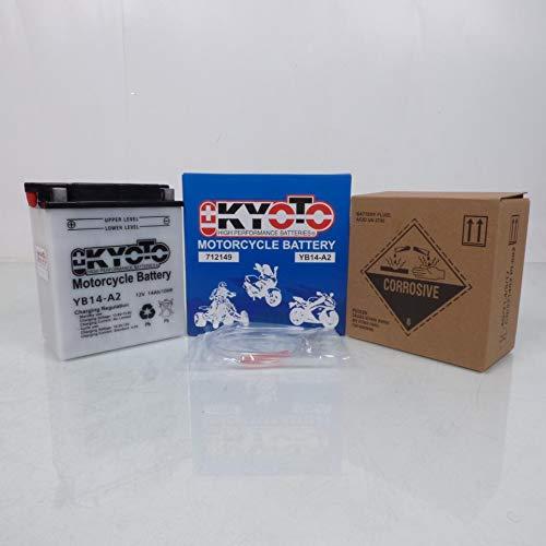 12 V 14 Ah Batteria Kyoto Quad Hytrack 250 Hy 265 H 2004-2005 YB14-A2