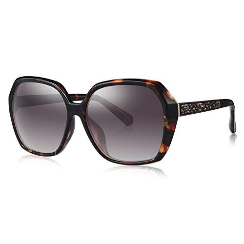 BOLON BL5007 Women's CR39 Pink Gradient HD Polarized Lens Angular TR - Bolon Sunglasses