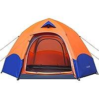 HOSPORT Camping Tent 4 Person Tent Pop Up Instant...