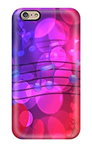 New Valentines Music Tpu Skin Case Compatible With Iphone 6