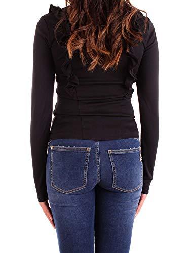 Mujer Viscosa Negro shirt T Heach Silvian Pga18776tsnero aW1qyH4c5