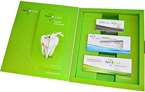 Apacare Cumdente Prevention Kit Dental Care Set 6 Piece: Amazon.de: Drogerie & Körperpflege