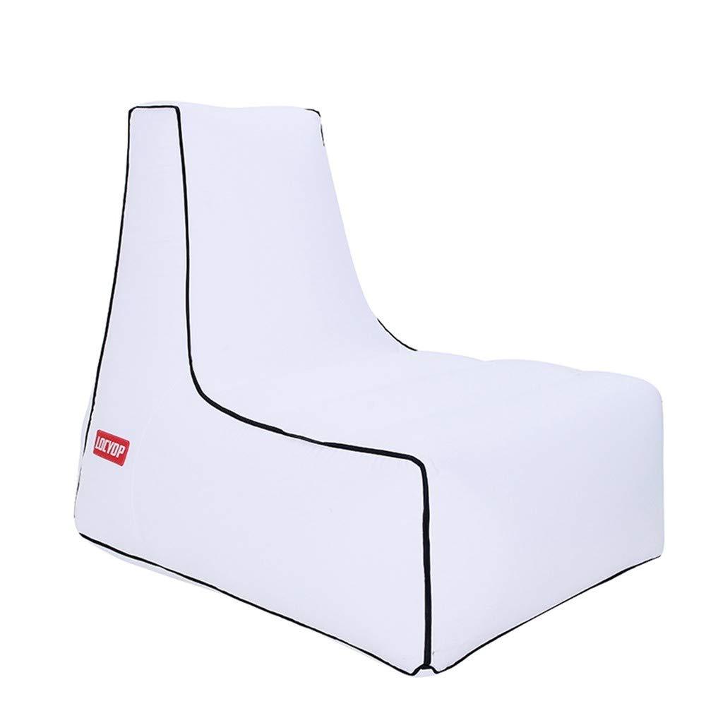LRSFC Luft Sofa Outdoor tragbare einheitlichen aufblasbares Bett Feuchtigkeit Beweis Matte Wasser aufblasbare fauler Sofa - Bett,weiße,übergroße