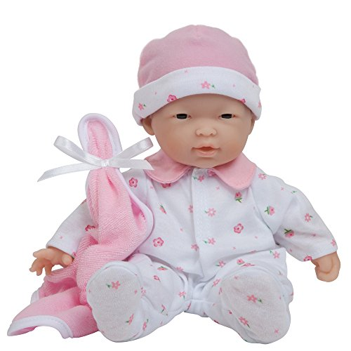 Asian Play Dolls (La Baby 11-inch Asian Washable Soft Body Play Doll For Children 18 months Or Older, Designed by Berenguer)