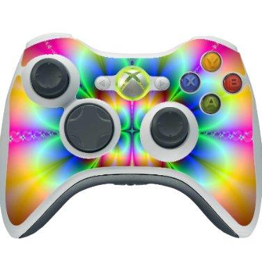 Sticker Decal for Xbox 360 Console Controller Multicolor - 3