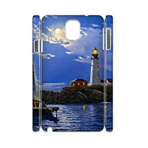 GRTT Unique Diy samsung galaxy note 3 N9000 case Lighthouse 3D Bumper Plastic customized case RT019275