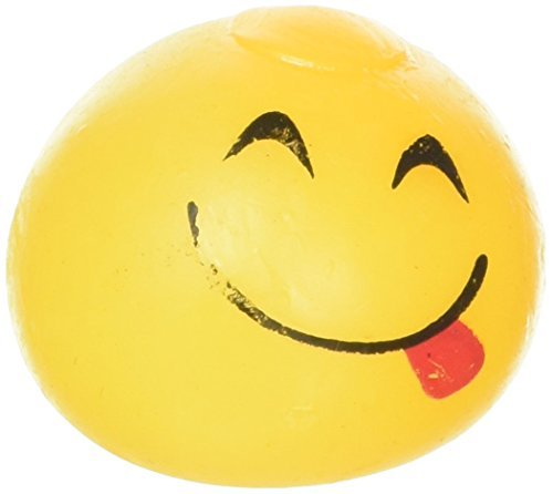 2.5'' STICKY SPLAT EMOTICON EMOJI BALL 1 DOZEN by R I N
