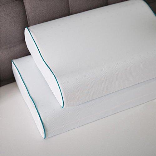 amazoncom night therapy mygel memory foam contour pillow set of two home u0026 kitchen