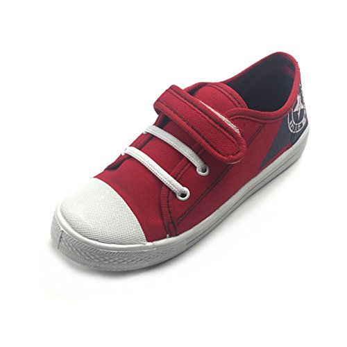 Gezer Boys' Trainers Red / Blue