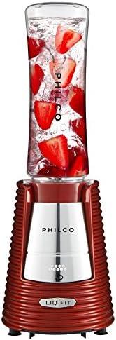 Liquidificador, Fit Retro, 600ml, Vermelho, 110V, Philco