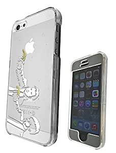 c0069 - Banksy Grafitti Art Pulp Fiction Design iphone 5 5S Fashion Trend CASE Full COVER Front And Back Full Protective Case Cover