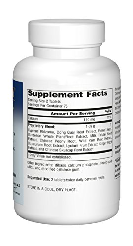 Planetary Herbals Bupleurum Liver Cleanse 545mg - With Calcium, Cypress Rhizome, Ginger & More - 150 Tablets by Planetary Formulas (Image #5)
