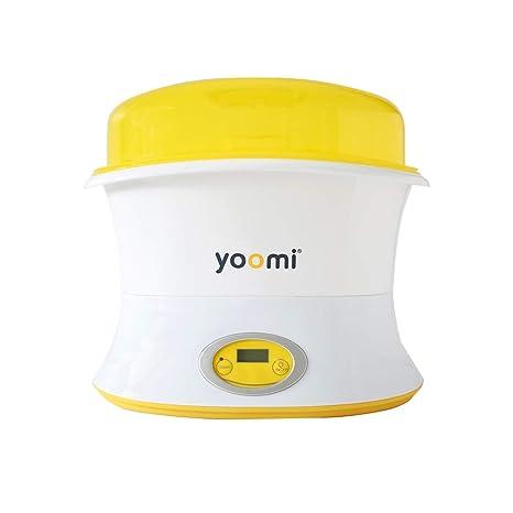 Decdeal YOOMI Bebé Botella Esterilizador de Vapor Eléctrico y Secador de Limpieza Profunda para Chupete Desinfección