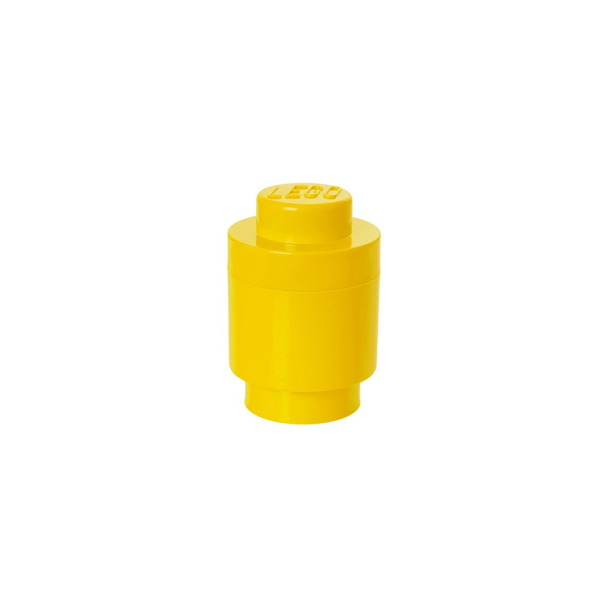 LEGO Round Storage Box 1, Yellow