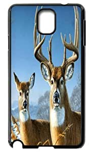 Deer Bear Wolf Hard Durable Back Case Protective For Your Samsung Galaxy Note3 N9000 Skin